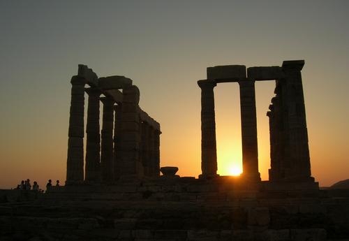 Σούνιο - Ναός του Ποσειδώνα