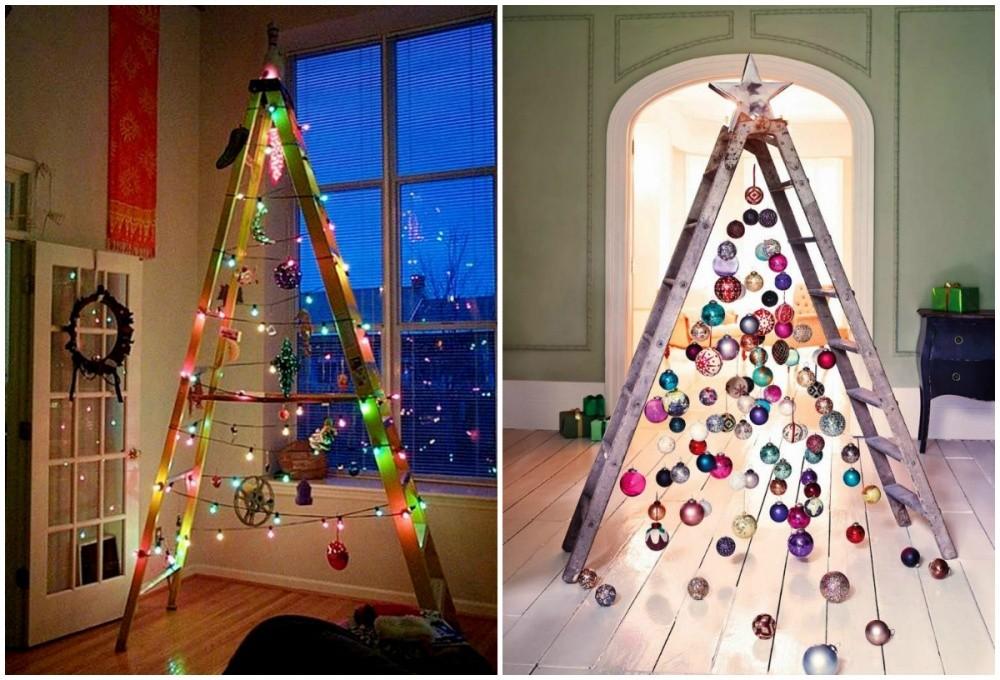χριστουγεννιάτικο δέντρο σκάλα